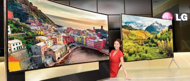 LG 105UC9V telewizor olbrzym