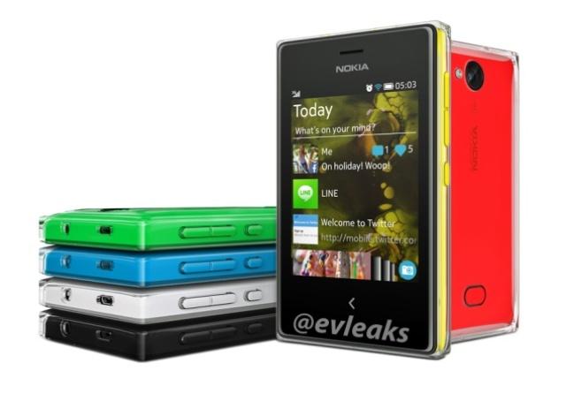 Telefonów komórkowychNokia Asha 503