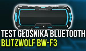BlitzWolf BW-F3 - Test Chińskiego Głośnika Bluetooth