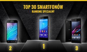 Ranking Specjalny Smartfonów - Zobacz 30 TOPowych Modeli na Polskim Rynku!