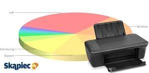 Ranking drukarek - sierpień 2013