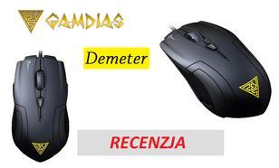 Gamdias Demeter - dobra mysz dla graczy w super cenie! (nowość w Polsce)