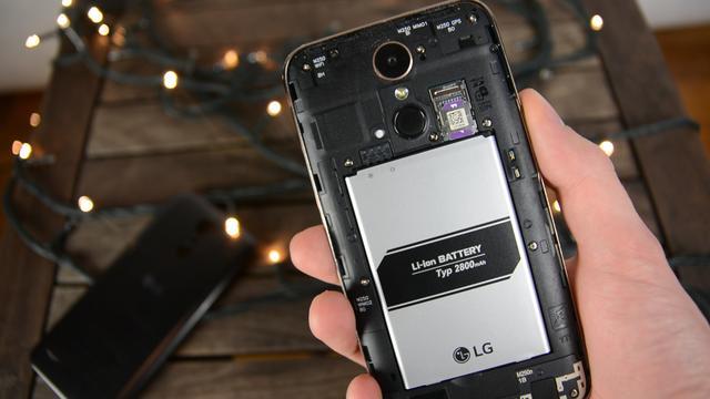 LG K10 2017 bateria