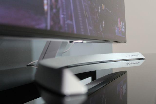 stylowy design nowoczesnego telewizora