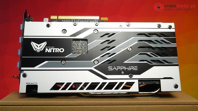 Sapphire Nitro 570 4GB tył karty