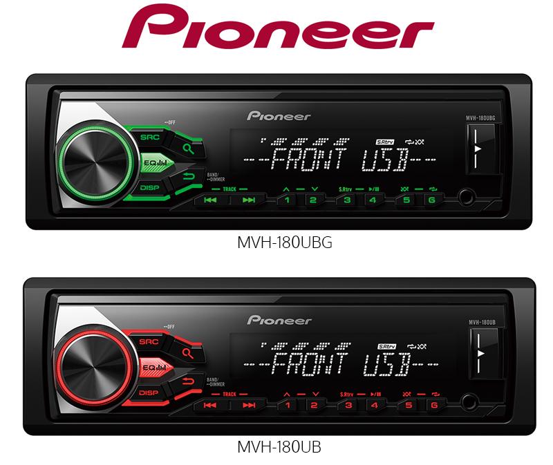 Pioneer MVH-180UB