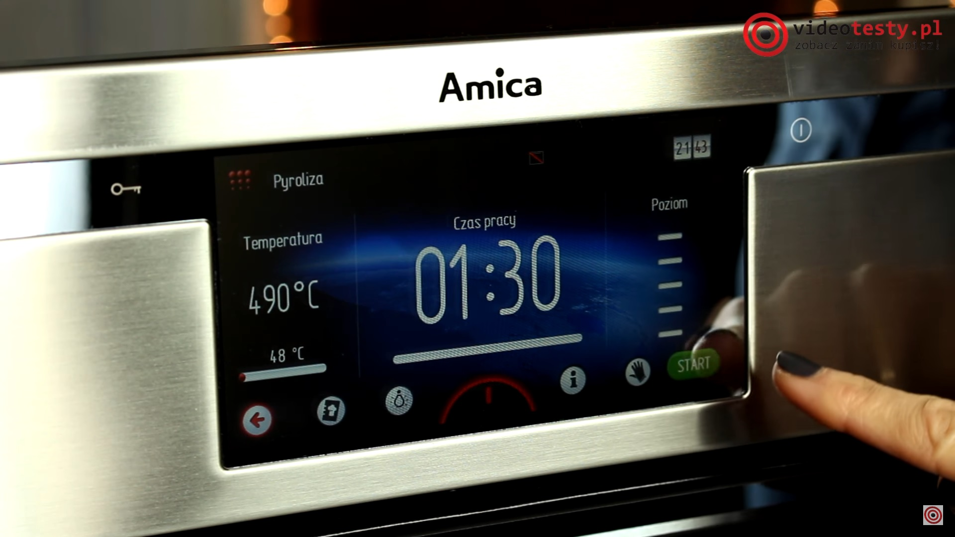 Amica Integra Smart EBI 712104AA pyro