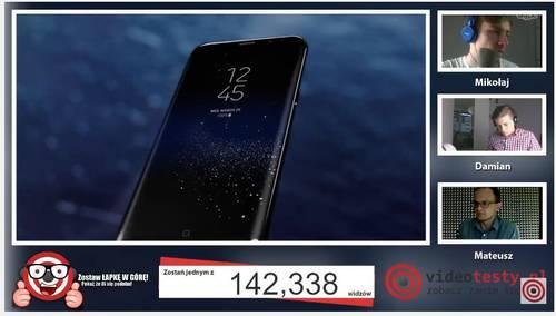 Premiera Samsunga Galaxy S8 - Live Videotesty  2