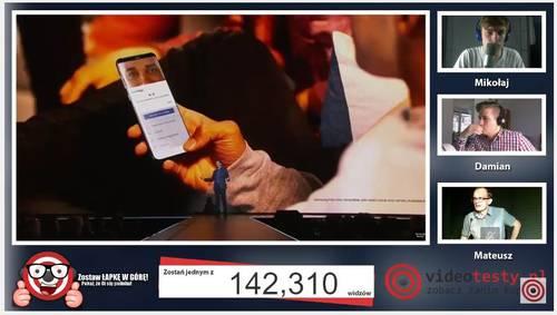 Premiera Samsunga Galaxy S8 - Live Videotesty 6