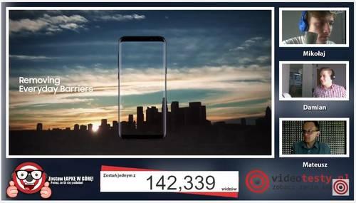 Premiera Samsunga Galaxy S8 - Live Videotesty 17