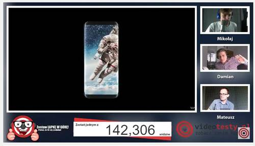 Premiera Samsunga Galaxy S8 - Live Videotesty 19