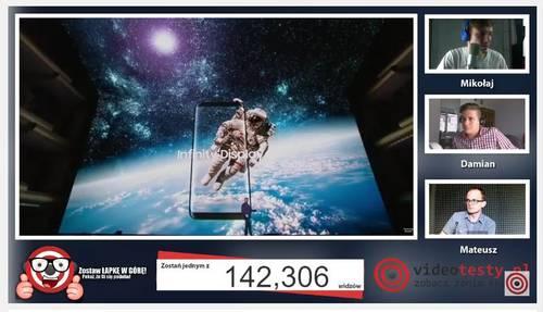 Premiera Samsunga Galaxy S8 - Live Videotesty 21