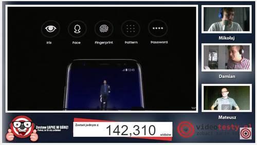 Premiera Samsunga Galaxy S8 - Live Videotesty 22
