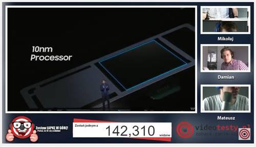 Premiera Samsunga Galaxy S8 - Live Videotesty 24