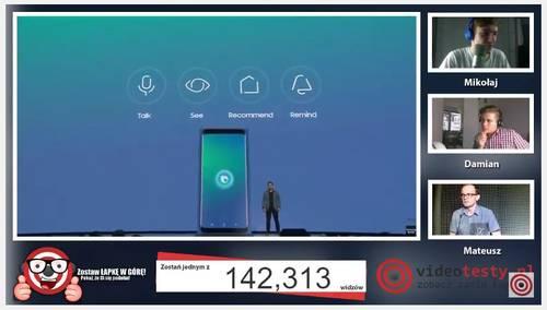 Premiera Samsunga Galaxy S8 - Live Videotesty 25