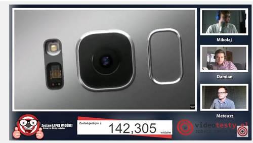 Premiera Samsunga Galaxy S8 - Live Videotesty 27