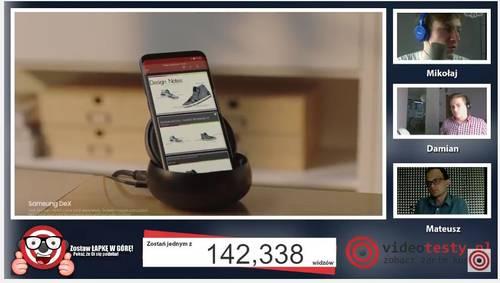 Premiera Samsunga Galaxy S8 - Live Videotesty 29